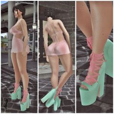 Fashion in SL by Luah Benelli: EQUAL