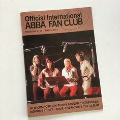 I have just received issue 130 of the Official International Abba Fan Club magazine... #Abba #Agnetha #Frida http://abbafansblog.blogspot.co.uk/2017/03/abba-magazine.html