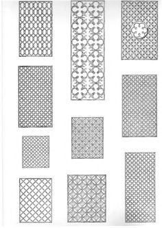 Islamic Decorative Patterns Cad Blocks Free Dwg File