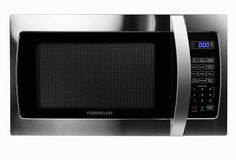 Farberware Professional Cubic Foot Microwave Oven, Stainless Steel Best Offer watts of cooking force and 10 control levels enable you to change the power from to Multi-arrange cooking for exceptionally cooked dinners and snacks. Best Countertop Microwave, Countertop Microwaves, Emerson, Compact Microwave, Stainless Steel Oven, Kitchen Timers, Cubic Foot