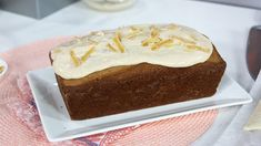 Look no further for that quintessential Christmas treat - discover tender gingerbread with a cream cheese glaze. Look no further for that quintessential Christmas treat - discover tender gingerbread with a cream cheese glaze. Holiday Baking, Christmas Baking, Cake Mix Recipes, Dessert Recipes, Yummy Recipes, Ginger Bread Loaf, Marilyn Denis Show Recipes, Easy Holiday Recipes, Desert Recipes