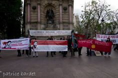 150 people took part in demanding freedom for Georges Abdallah in Paris 9 May(3)
