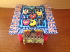 Maquina de comecoco Pac Man hecho con hama beads