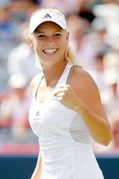Danish Tennisplayer Caroline Wozniacki - Miss Sunshine❤️