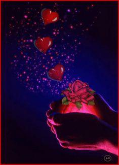 I Love You Images, Love Heart Images, Love Heart Gif, Love You Gif, Happy Birthday Hearts, Happy Birthday Love Quotes, Dove Pictures, Cute Love Pictures, Beautiful Gif