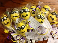 Chocolate minion spoons!