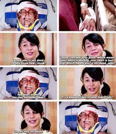 I wish the little girl talked to mer when she saw her