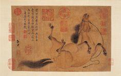 名家画马:历代名家画笔下的马_中国国情_中国网