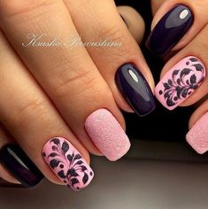 Gel nail art designs for short nails luxury nail polish design luxury 50 stunning manicure ideas for Blue Nail, Silver Nail, Spring Nail Art, Spring Nails, Summer Nails, Trendy Nails, Cute Nails, Hair And Nails, My Nails