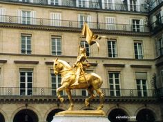 Statue of Joan of Arc, Emmanuel Frémiet 1874