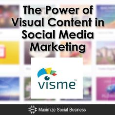 The Power of Visual Content in Social Media Marketing