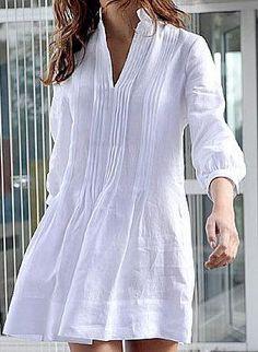 Peça fundamental no guarda-roupa feminino! O chemise é um vestido que lembra uma camisa, que pode ser liso ou estampado, curto ou longo e de qualquer tecido (seda, malha, algodão, cetim, etc). É um…