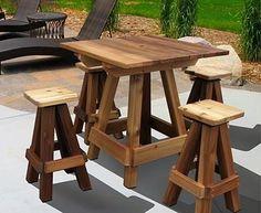 Order today from Gardenmybalcony.com & receive FREE SHIPPING. Gronomics Outdoor Picnic Table Bar Top.