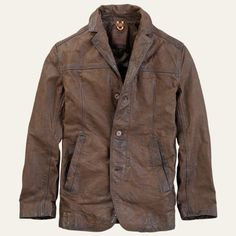 Timberland | Men's Tenon Leather Blazer