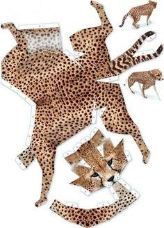 Клуб рукоделия Paper Crafts Origami, Easy Paper Crafts, Diy Paper, Cardboard Paper, Paper Toys, Imprimibles Toy Story Gratis, Animal Cutouts, Animal Templates, Paper Animals