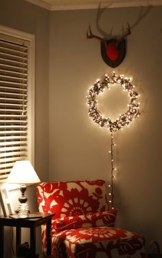 Holiday Decor: Ideas for Decorating With Christmas Lights, Both Old and New | Apartment Therapy