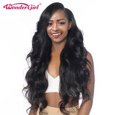 Rabake Brazilian Body Wave Hair 3 Bundles With Closure Grade Brazilian Virgin Hair Wavy Human Hair Bundles With off promotion factory cheap price,DHL worldwide shipping, store coupon available. Human Hair Lace Wigs, Remy Human Hair, Human Hair Extensions, Remy Hair, Weave Extensions, Curly Hair Styles, Natural Hair Styles, Body Wave Hair, My Hairstyle