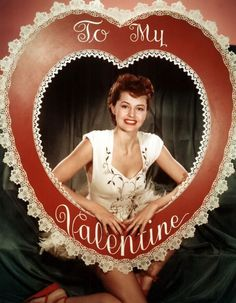 Pin-up Valentine: Cyd Charisse Vintage Valentines, Vintage Holiday, Happy Valentines Day, Valentine Stuff, Funny Valentine, Golden Age Of Hollywood, Vintage Hollywood, Classic Hollywood, Hollywood Stars