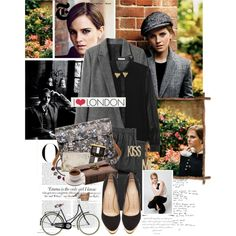 """Emma Watson Graces T Magazine's Fall Issue in Evocative Style"" by bittersweet89 on Polyvore"
