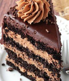 Nutella Chocolate Cake Recipe ~ Easy Recipes