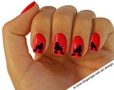Poodle nails!!!