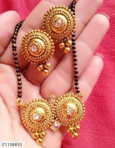 Eye catching Kundan Mangal Sutra