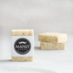 Manly Soap Orange