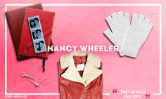 Nancy Wheeler Graphic - Stranger Things