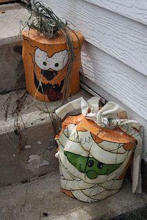 Stump Pumpkins