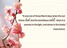 spring quotes charles dickens - Google Search