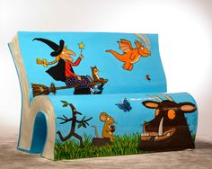 """To promote literacy, the """"Books about Town"""" project is bringing 50 unique BookBench sculptures to London."""