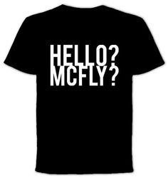 McFly   Tshirt by QuotestoLiveBy on Etsy, $19.99