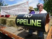 The yard sales will be held along the route of the proposed Tennessee Gas pipeline.