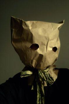 paper bag mask - Google Search