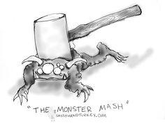 The Monster Mash #monster #halloween