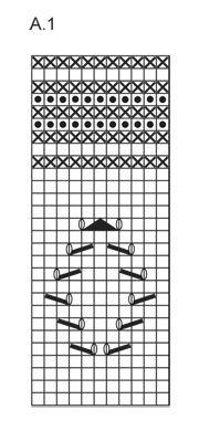 """Soft Rime - Chauffe-épaules DROPS ajouré, en """"Paris"""". Du S au XXXL. - Free pattern by DROPS Design"""