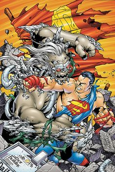 #Superman #Fan #Art. (DC Comics Presents: Superman Doomsday issue #1 Cover) By:Carlos Pacheco.