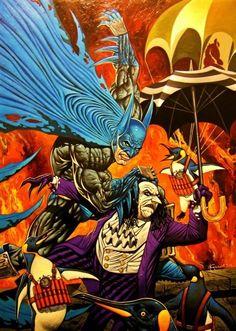 Batman vs. The Penguin - Noel Guard