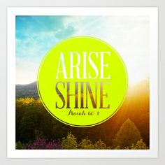 Arise Art Print by Pocket Fuel - $18.95
