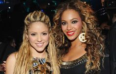 In 2007, she rereleased her B'Day album featuring a duet with Shakira called Beautiful Liar.
