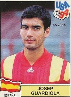 GUARDIOLA (Selección Española - 1994) Ed. Panini