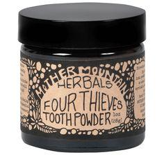 Four Thieves Tooth Powder - 1 oz