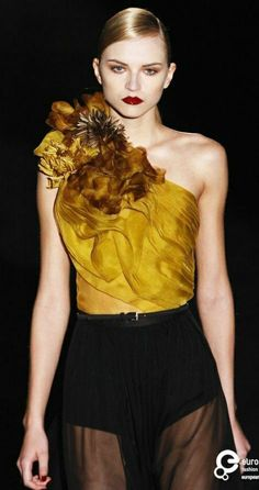 Fall Winter, Autumn, Mellow Yellow, Fashion Quotes, Color Combos, Mustard, Fashion Photography, Women Wear, Gucci