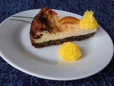 Cheesecake à l'orange et au chocolat – Plaisirs de la maison http://www.plaisirs-de-la-maison.com/article-cheesecake-a-l-orange-et-au-chocolat-pour-culino-versions-octobre-2013-120764587.html #cheesecake #culinoversions