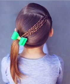 Little Girls Hair Cuts. Wanting to find some trendy and stunning hair styles for little girls? Girls Hairdos, Baby Girl Hairstyles, Princess Hairstyles, Braided Hairstyles, Trendy Hairstyles, Hairstyles For Girls Easy, Hairstyles 2016, Girl Haircuts, Updo Hairstyle