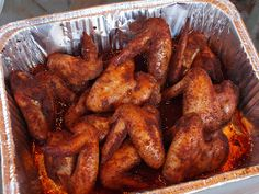 Smoked Spicy and Sweet Chicken Wings | Cook The Hell Out of It!