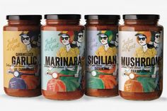 Time for some pasta sauce packaging design inspiration. It turns out that there are plenty of good designs, see them all at Ateriet - Food Packaging Food Packaging Design, Packaging Design Inspiration, Ale, Olive Oil Packaging, Garlic Pasta, Pasta Sauces, Italian Pasta, Italian Recipes, Behance