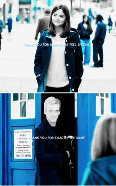 doctor, traveling with you made me feel really special. t h a n k y o u for that. #doctorwho