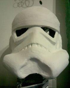Hace tu propio Casco de una Tropa Imperial de Star Wars Disfraz Star Wars, Waterfalls, Costumes