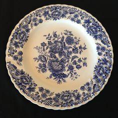 Decorative Plate//Ridgway by FoundAndFlogged on Etsy